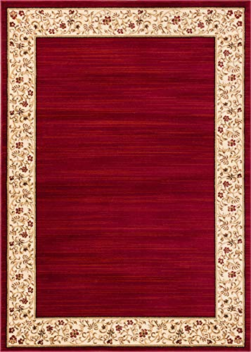 Red Transitional Area Rug - Well Woven Barclay Terrazzo Red Transitional Area Rug 7'10