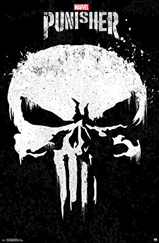 Trends International The The Punisher - Show Logo Premium Wall Poster, 22.375