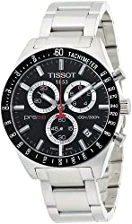 Tissot Men's T0444172105100 PRS 516 Black Chronograph Dial Watch