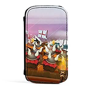 Viking Invasion Fleet Premium Faux PU Leather Case Flip Case for Samsung? Galaxy S3 by Nick Greenaway + FREE Crystal Clear Screen Protector by mcsharks