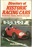 Directory of Historic Racing Cars, Jenkinson, Dennis, 0946627088