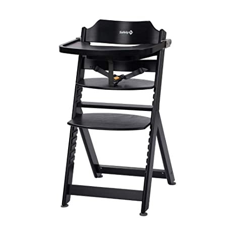 Safety 1st - Trona de madera (mesa extraíble, desde los 6 meses ...