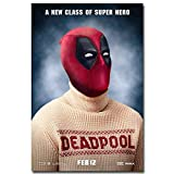 Deadpool Superheroes Art Silk Fabric Poster Print Comic Movie Pictures For Wall Decoration 011 - 24x36 inches