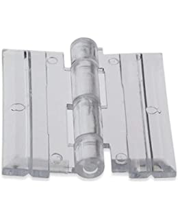 Acryl-Hinge Small Acrylic Hinge 50 Pack FTM Inc SHCB50