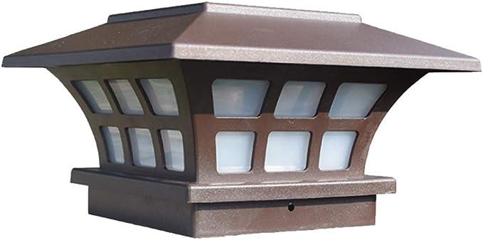 Luz LED solar para exteriores, impermeable, para jardín, valla ...