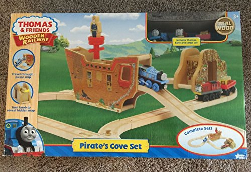 (Thomas the Tank Engine Wooden Railway Series - Pirate's Cove Set - LC98519)