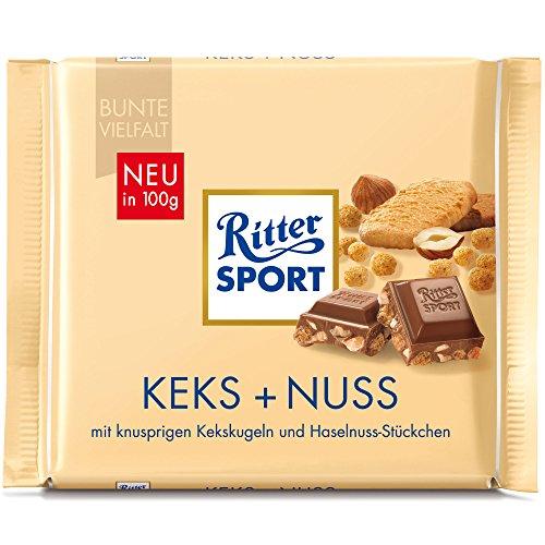 Ritter Sport Nut Biscuit (5 x 100g)