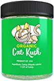 Organic Catnip by Cat Kush, Safe Premium Blend Perfect for Cats, Instilled with Maximized Potency your Kitty is Guaranteed to Go Crazy for! (1 Cup) Pack may vary