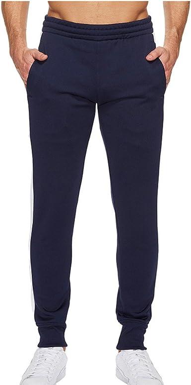Pantalones Deportivos Hombre 100% Algodón Pantalones de Pijama ...