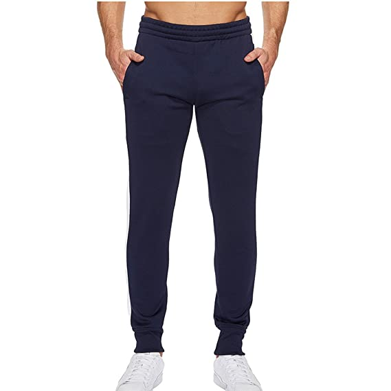 Pantalones de Chándal de Hombres Pantalones de Deporte Pantalones Jogger Casuales para Hombre