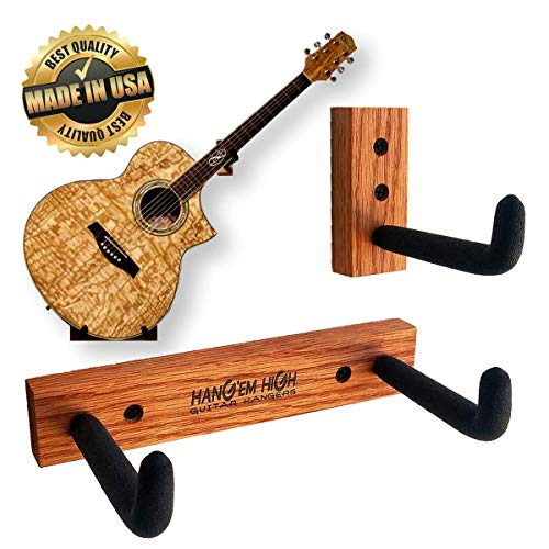 Horizontal Guitar Wall Hanger Display for Acoustic for sale  Delivered anywhere in USA