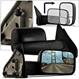 Make Auto Parts Manufacturing Passenger Side Door Mirror Textured Black Power Operated Heated Manual Folding Without Memory For Dodge Ram 1500 2500 3500 2002-2009 - CH1321228