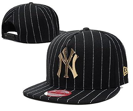 4bd028e4572 Fashion New York Yankees Iron Standard Hip-hop Snapback Cap Hat   All 30  Major