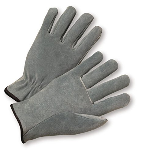 West Chester 980 XL Standard Split Cowhide Driver Gloves, XL 5.125