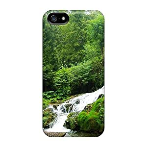 Iphone Case - Tpu Case Protective For Iphone 5/5s- Waterfalls Under A Wonderful Balcony