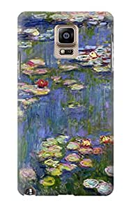 S0997 Claude Monet Water Lilies Case Cover For Samsung Galaxy Note 4