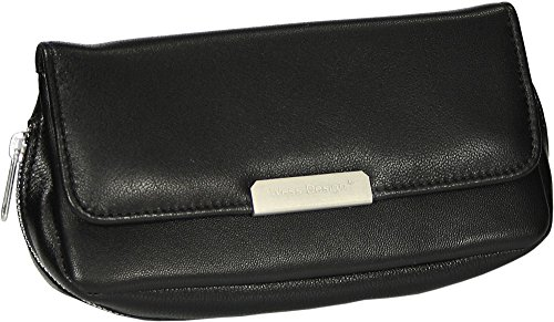 Martin Wess Germany ''Onyx'' Ultra Fine Nappa Leather 2 Pipe Combo Pouch by Martin Wess