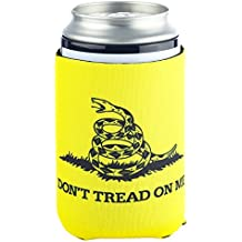 Funny Guy Mugs Don't Tread On Me Collapsible Neoprene Can Coolie - Drink Cooler