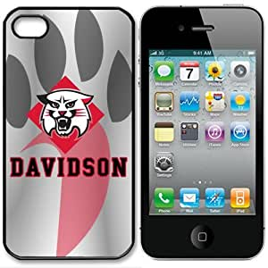 NCAA Davidson Wildcats Iphone 5 Case Cover by runtopwell