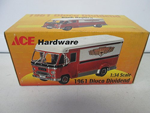 Crown Ace Hardware - 2001 Crown Premiums Ace Hardware 1961 Divco Dividend Bank 1:34
