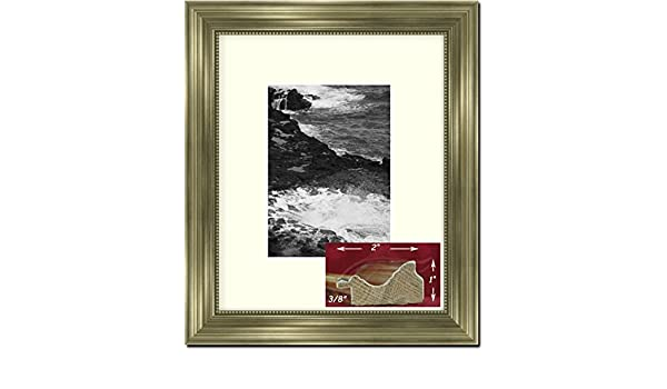 61ad9aa94d6 Amazon.com - Champagne Silver Picture Frame -