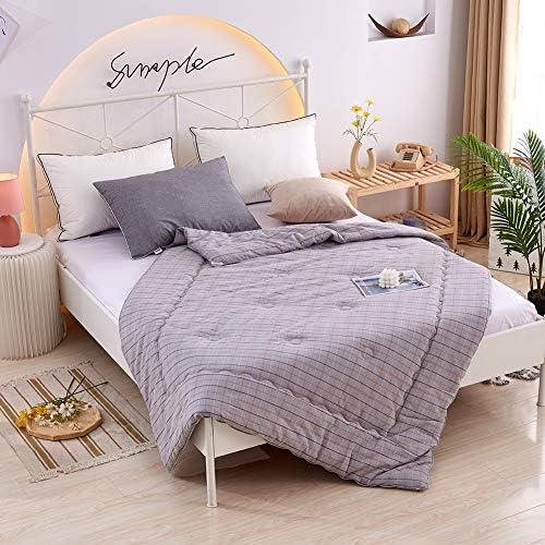 Colcoll 100% Pure Cotton Bedding Comforter Set Quilt Set Luxury Soft Quilt Suit Breathable Warm Comforter Suit Quilt Set-col-Quilt (8890)