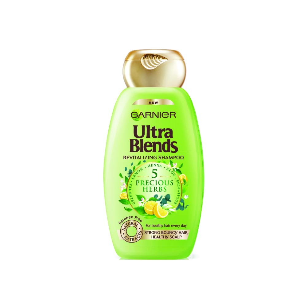 Buy Garnier Ultra Blends 5 Precious Herbs Shampoo 340ml Online At Clear Shampo Csoft Care Low Prices In India