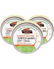 Palmer's Cocoa Butter Formula Tummy Butter Balm for Stretch Marks & Pregnancy Skin Care   4.4 Ounces (Pack of 3)