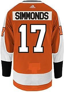 acb73f7a9 adidas Wayne Simmonds Philadelphia Flyers Authentic Home NHL Hockey Jersey