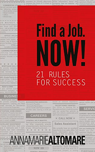 Download PDF Find a Job. Now! - 21 Rules for Success