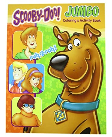 scooby doo activity book scooby doo jumbo coloring and activity book 1 book - Coloring And Activity Books