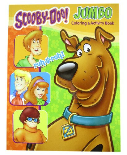 Scooby Doo Activity Book - Scooby Doo Jumbo Coloring And Activity Book (1 Book)]()