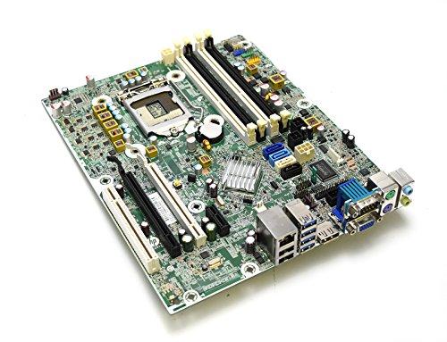 (HP 657094-001 Genuine OEM Compaq Elite 8300 6300 Pro Small Form Factor SFF Desktop Intel Motherboard 8000 Series 3.0 USB Internet RJ-45 VGA Audio Display Port PCIE 657094-501 657094-601 657239-501 )