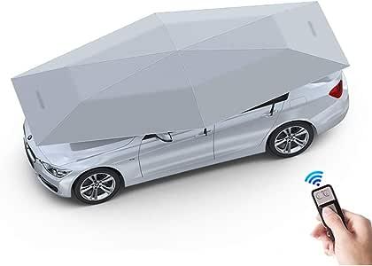 ALXDR Paraguas para Tienda de campaña de Auto automático, Plegable, portátil, para Coche, Protector de toldo, toldo para Coche, antiUV, Resistente al Viento, Resistente al Agua, 4.82.3M: Amazon.es: Hogar