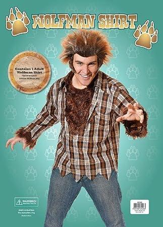 Bristol Novelty - Camisa de cuadros para disfraz de hombre lobo ...