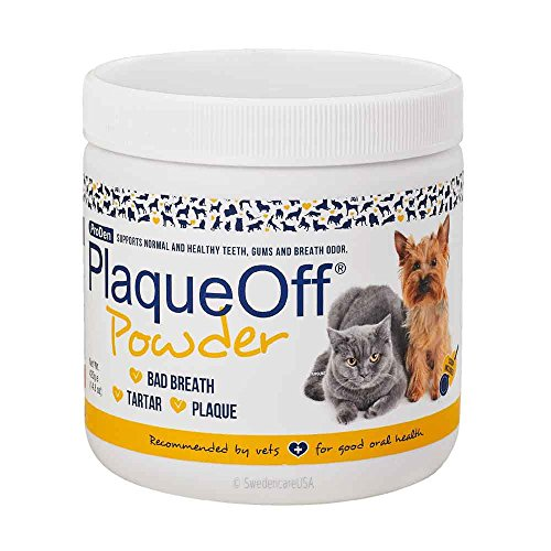 Dental Cat Care Dog (Proden PlaqueOff Dental Care for Dogs and Cats, 420gm)