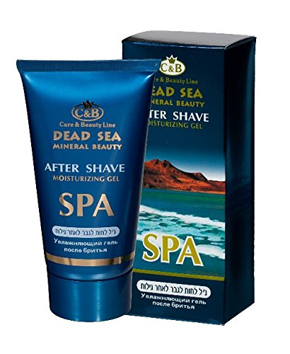 - After shave moisturizing gel 150ml / 5 oz Dead Sea Minerals Face Care Men Man Israel Aftershave after shave