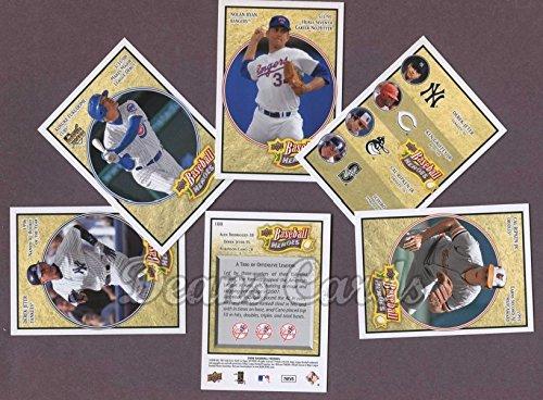 2008 Upper Deck Heroes Baseball Complete Set (Baseball Se...