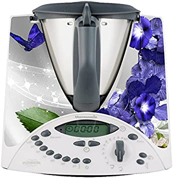 Thermodernizate.com- Vinilos Thermomix TM31 Mariposas y violetas: Amazon.es