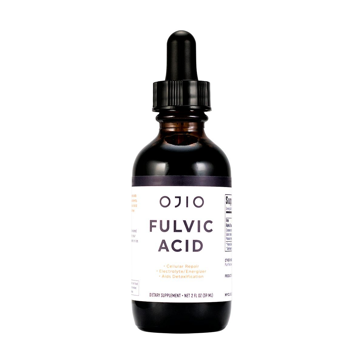 Ultimate Superfoods Fulvic Trace Mineral Complex - 2 oz