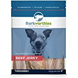 Barkworthies Beef Jerky Chews in Bag for Pets, 8-Ounce
