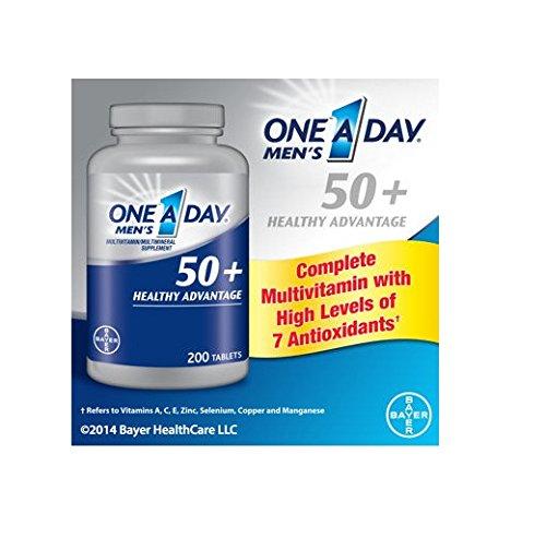 Un 50+ Healthy Advantage est une journée Hommes, 200 comprimés