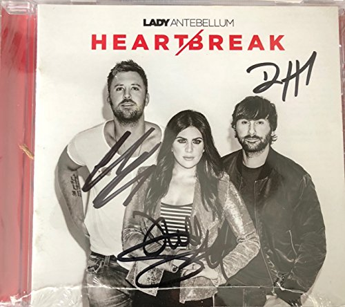 Kelley Signed - Lady Antebellum - Heartbreak {Exclusive Signed Edition} CD
