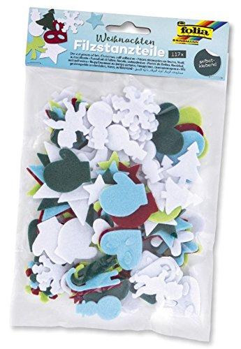 Folia 5265 Fieltro Para Manualidades de perforación piezas Navidad