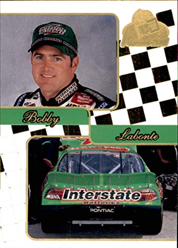 2001 NASCAR Press Pass Premium Gold #34 Bobby Labonte