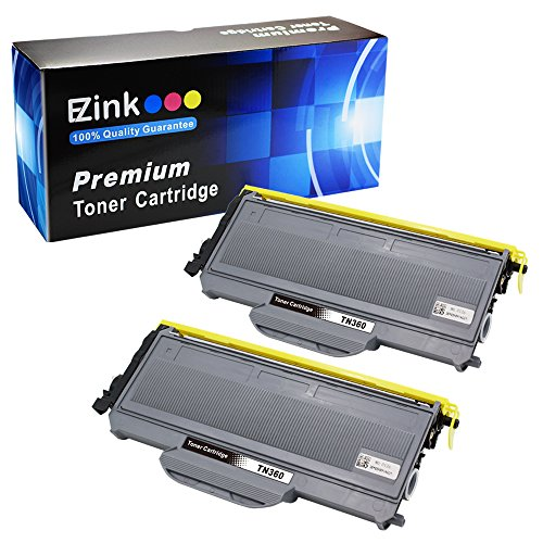 E-Z Ink(TM) Compatible Toner Cartridge Replacement For Brother TN330 TN360 TN-330 TN-360 High Yield (2 Black) for use with HL-2140 HL-2170W DCP-7030 DCP-7040 MFC-7340 MFC-7345N MFC-7440N (Mfc 7440n Multifunction Printer)