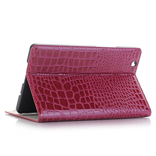 Closure for Auto Function of Huawei LMFULM Cover Thin 8 M3 4 Splice Folding Case Function Mediapad Stent Inch Bookstyle Ultra Card Business Slot Leather Wake and PU Magnetic Wine Red Leather Design Sleep B5OxRwq4O