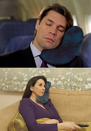 J-Pillow Travel Pillow - Head, Chin and Neck Support - British Invention...