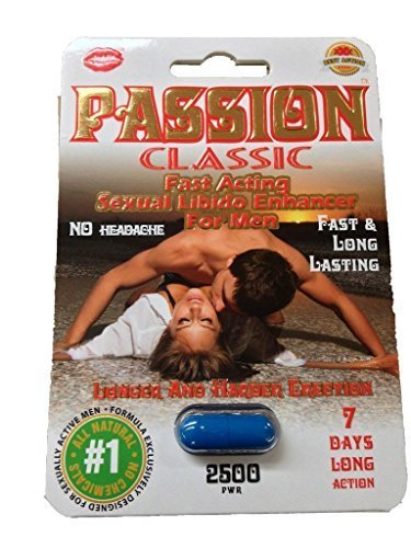 Classic Pill (Passion Classic Sexual Libido Male Enhancement Pill/10pills by Passion Classic)