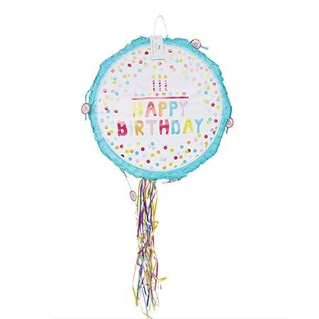 Pinata Partido único - Piñata de cumpleaños brillante con ...